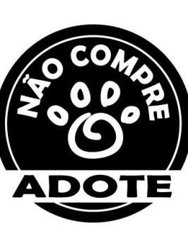 Adesivo  Preto (não compre, adote)