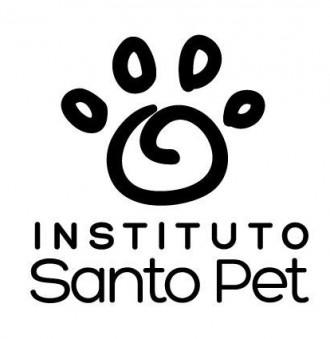 Adesivo Santo Pet - Preto
