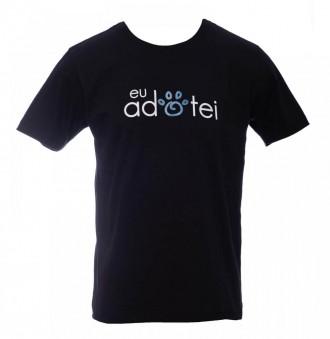 Camiseta Eu Adotei - Unissex