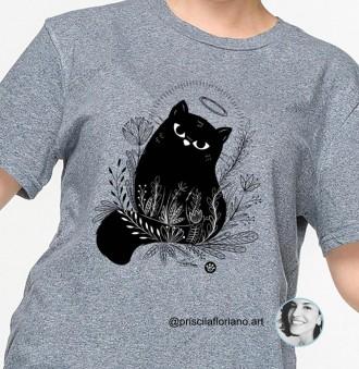 Camiseta  Santo Gato