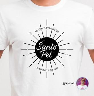 Camiseta  Santo Pet