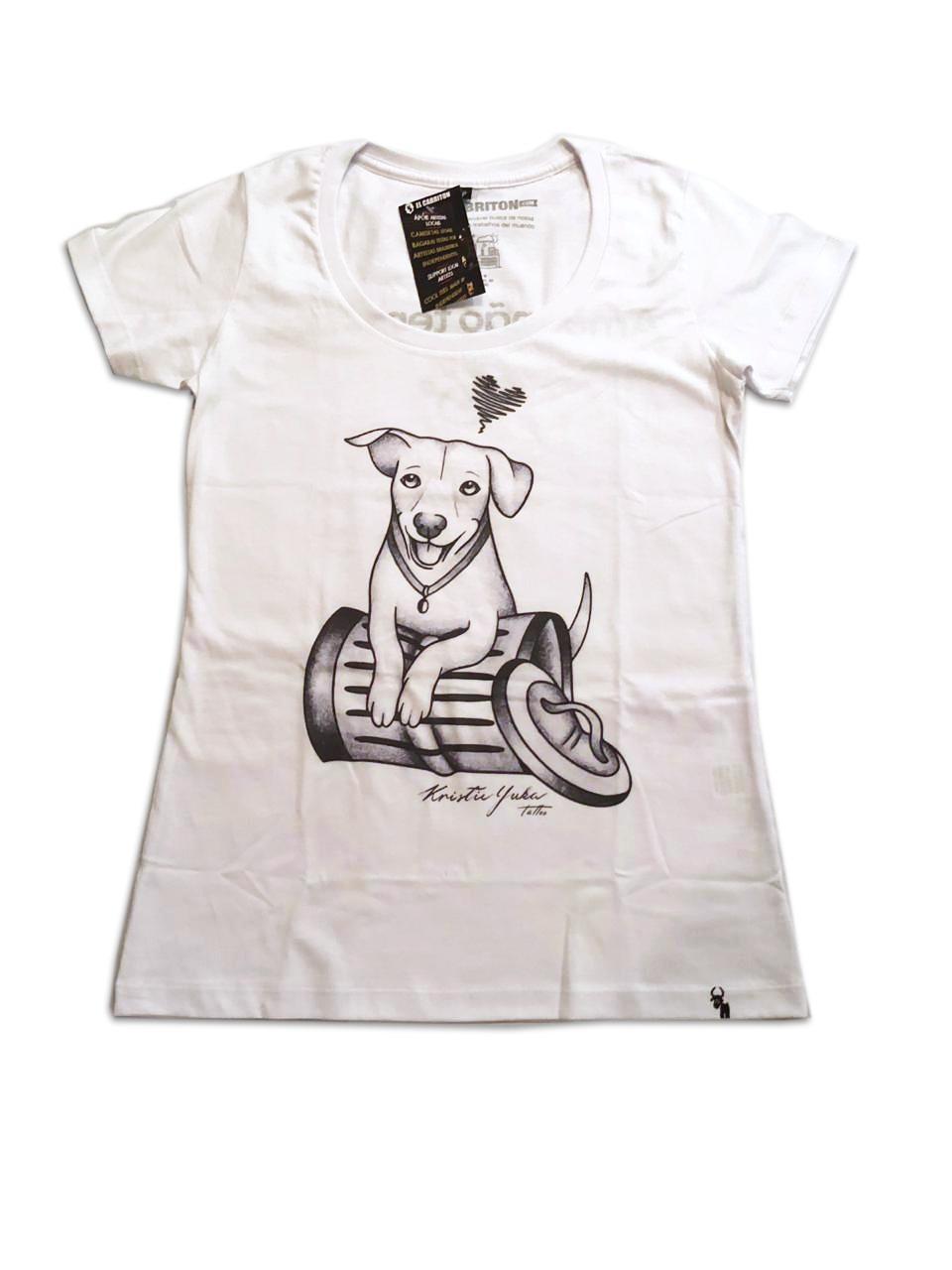 Camiseta - Amor não tem raça - Feminina Baby Look