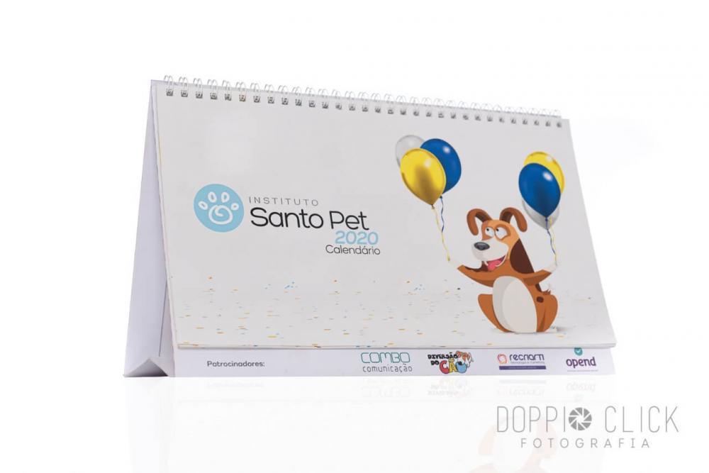 Calendário 2020 - Santo Pet